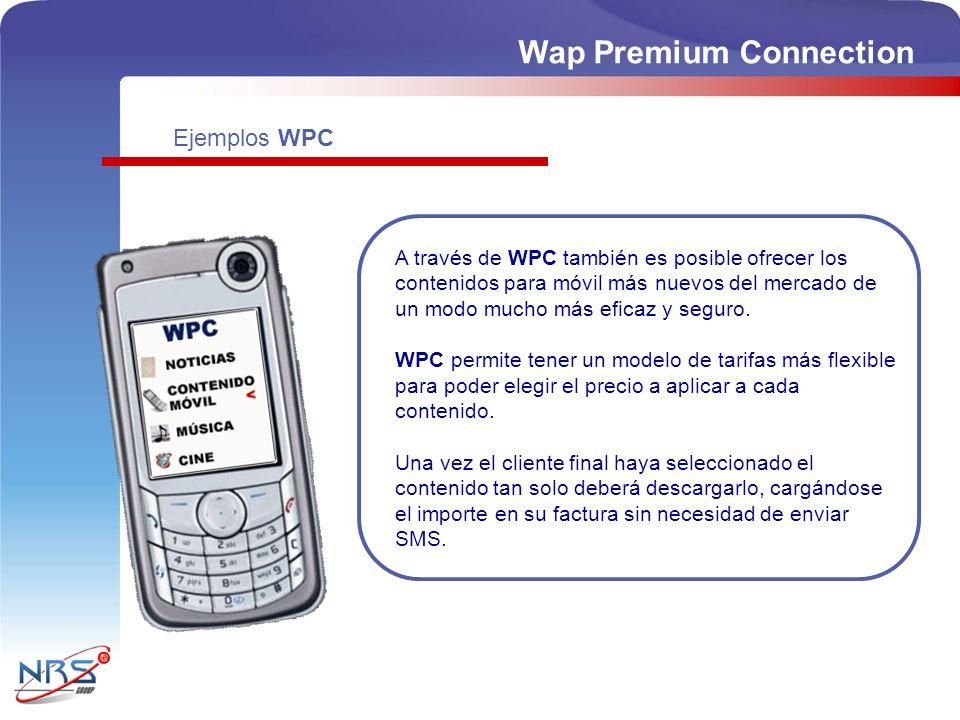 A través de WPC también es posible ofrecer los contenidos para móvil más nuevos del mercado de un modo mucho más eficaz y seguro. WPC permite tener un