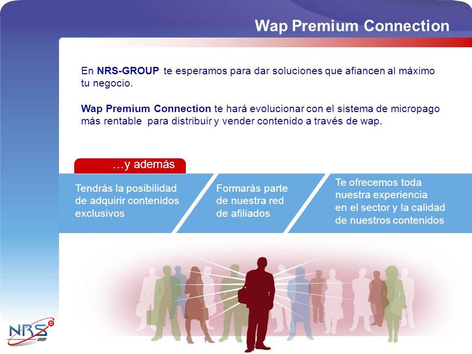Tendrás la posibilidad de adquirir contenidos exclusivos Formarás parte de nuestra red de afiliados En NRS-GROUP te esperamos para dar soluciones que