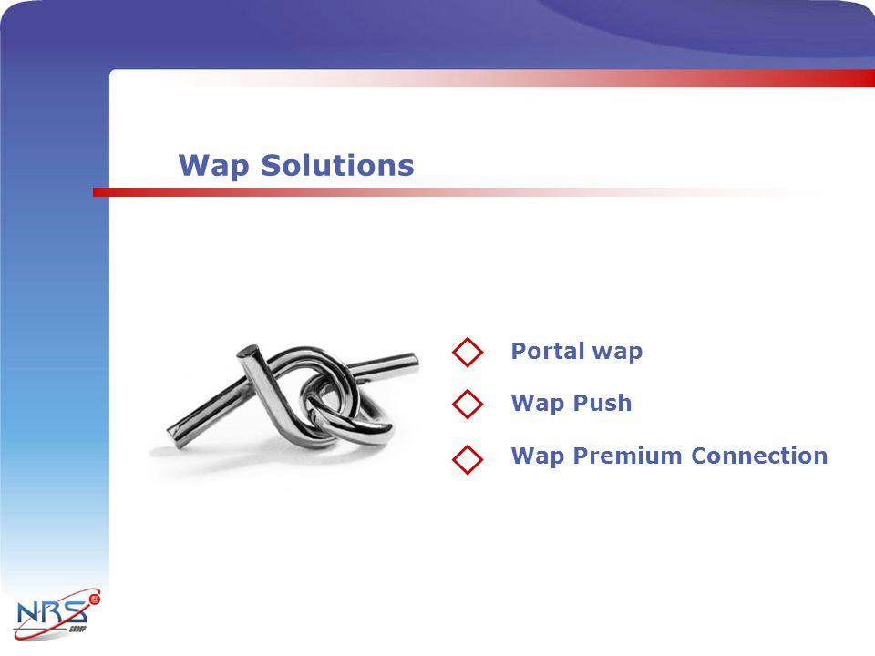 Opciones que ofrecemos PROVEEDOR DE CONTENIDO - Ponerse en contacto con nosotros - Recibirá la documentación pertinente - Seleccionar la tarifa idónea (1 – 6 euros) - Poner en marcha el WAP PREMIUM CONNECTION (WPC) En el caso de que no tengas portal wap estudiaremos tu caso y te daremos la solución más adecuada 12 Recibir la documentación 4 Ponerse en contacto 3 Seleccionar la tarifa Poner en marcha WPC Si ya tiene portal wap, para integrar nuestro método de pago debe: Conocerá al minuto los beneficios que genera su portal wap Podrá disfrutar de las estadísticas a tiempo real Wap Premium Connection