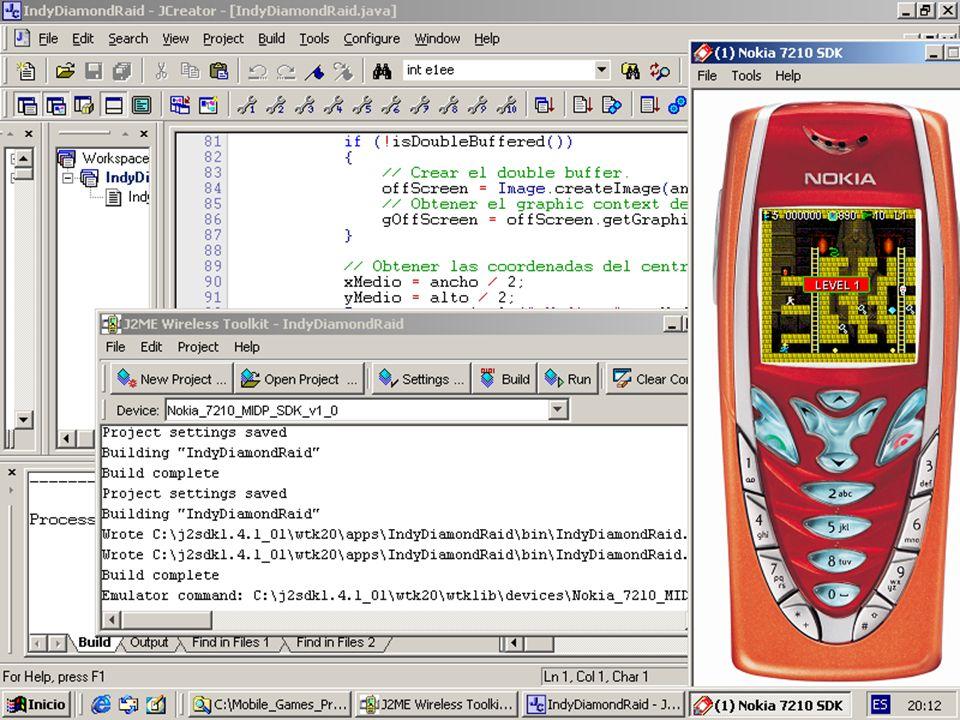 Programación de Juegos Móviles con J2ME - EVA 200311