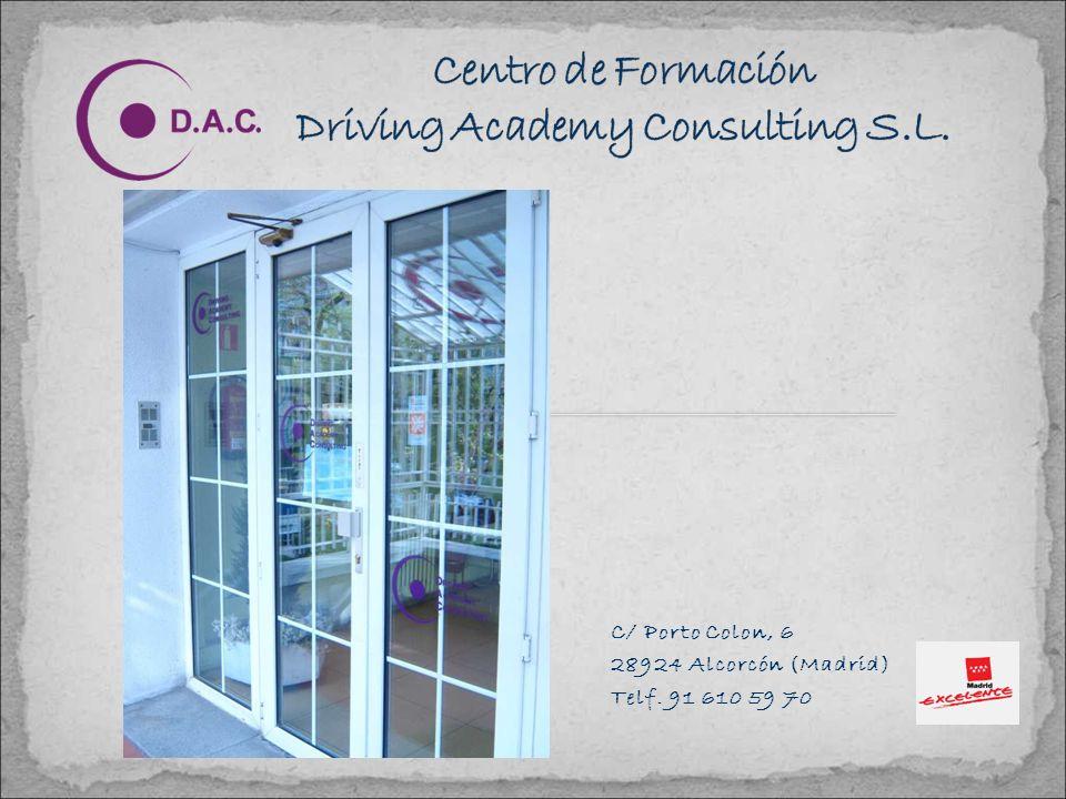 TRAYECTORIA Driving Academy Consulting S.L. (D.A.C.), es un CENTRO DE FORMACIÓN especialmente dedicado al sector de la Formación Vial y los Transporte