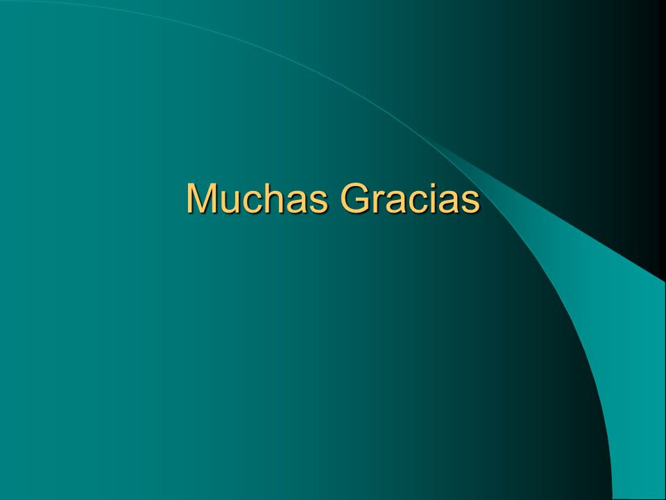 Muchas Gracias