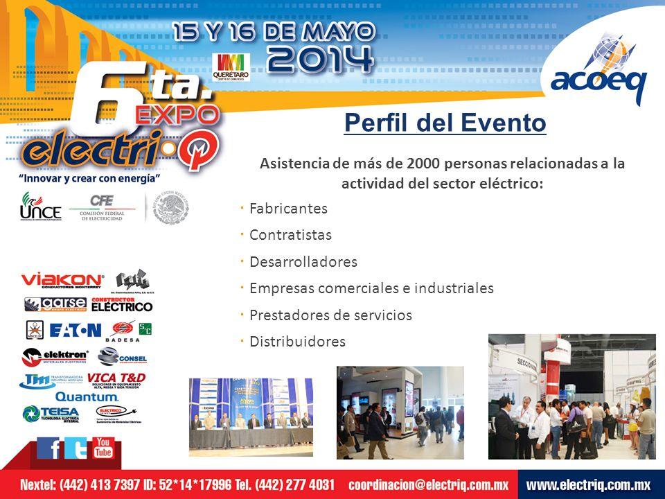 Datos generales: Sede del Evento: · Centro de Congresos de Querétaro, Qro.