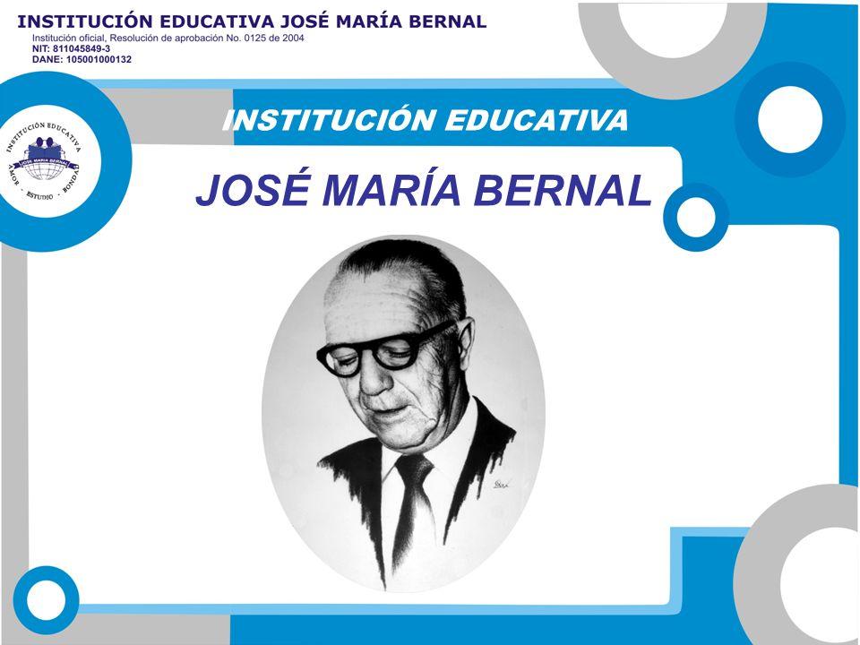 INSTITUCIÓN EDUCATIVA JOSÉ MARÍA BERNAL
