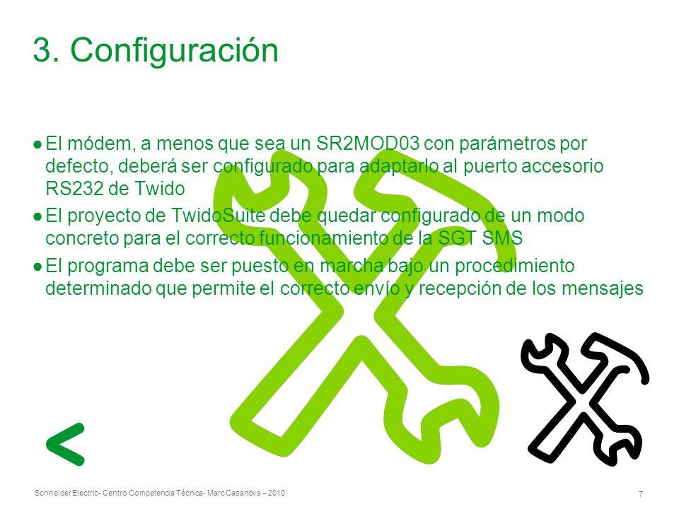 Schneider Electric 7 - Centro Competencia Técnica- Marc Casanova – 2010 3.