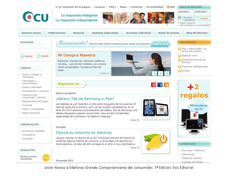 Publicaciones de la OCU Las tres revistas de información general, OCU-Compra Maestra, Dinero y Derechos y OCU-Salud incluyen en sus páginas, libres de publicidad, análisis comparativos, encuestas y estudios...