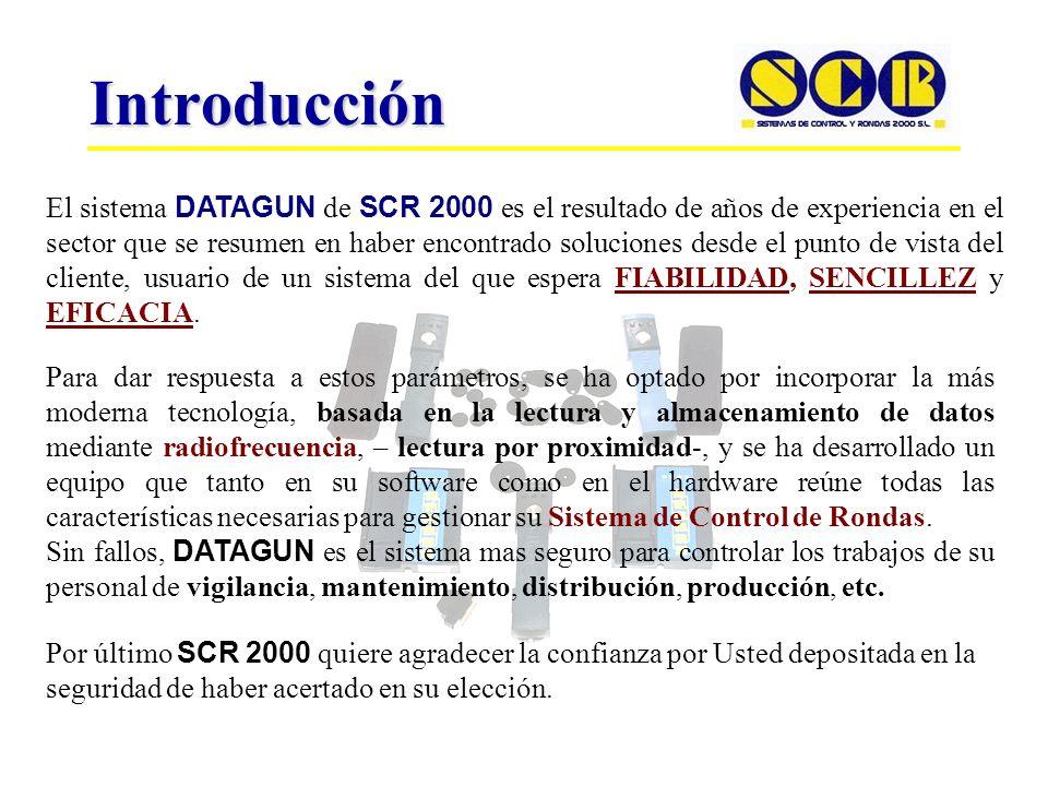 INDICE Componentes - TLD-Lector de Datos - BPE-Base Programación y Evaluación (Buffer) - TC- Transponder de control. Versiones - DATAGUN-PRINTER - DAT