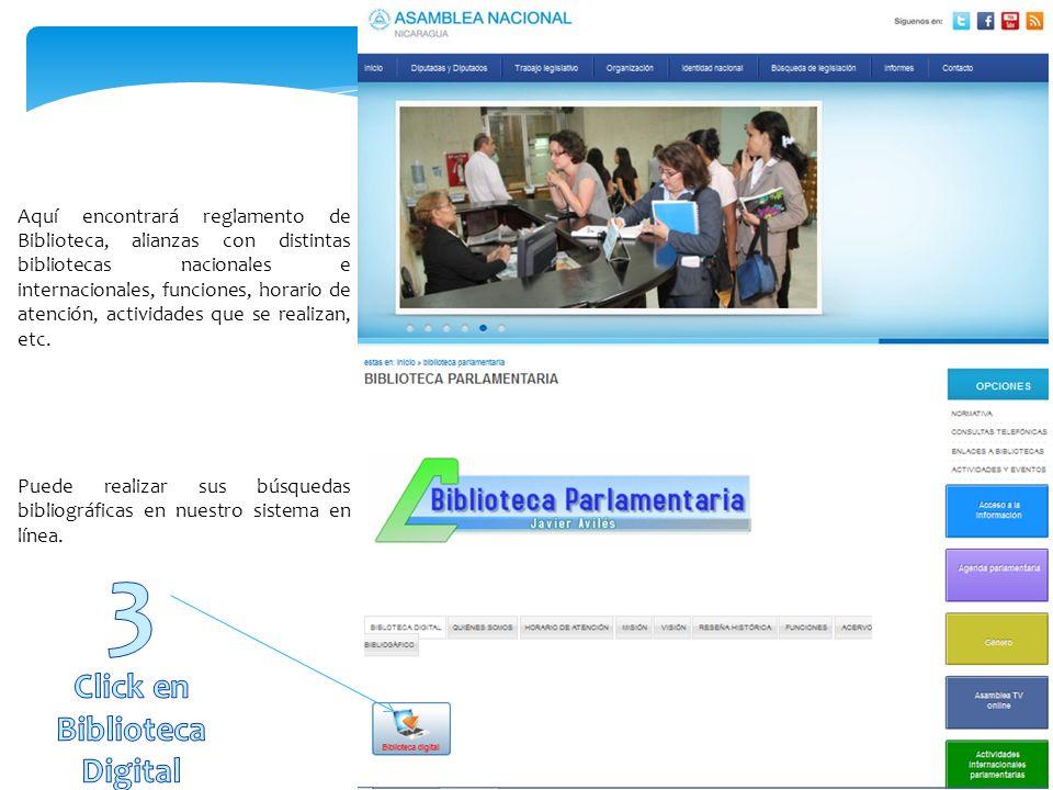 http://www.asamblea.gob.ni Mediante la dirección anterior o a través de un buscador con el título Asamblea Nacional de Nicaragua.