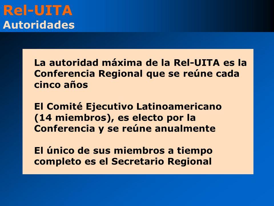 La autoridad máxima de la Rel-UITA es la Conferencia Regional que se reúne cada cinco años El Comité Ejecutivo Latinoamericano (14 miembros), es elect