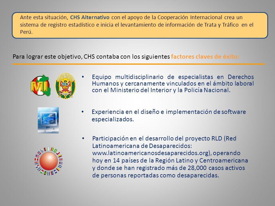 2.Que la Policía PUEDA usar el Sistema: - Software de uso sencillo y amigable.