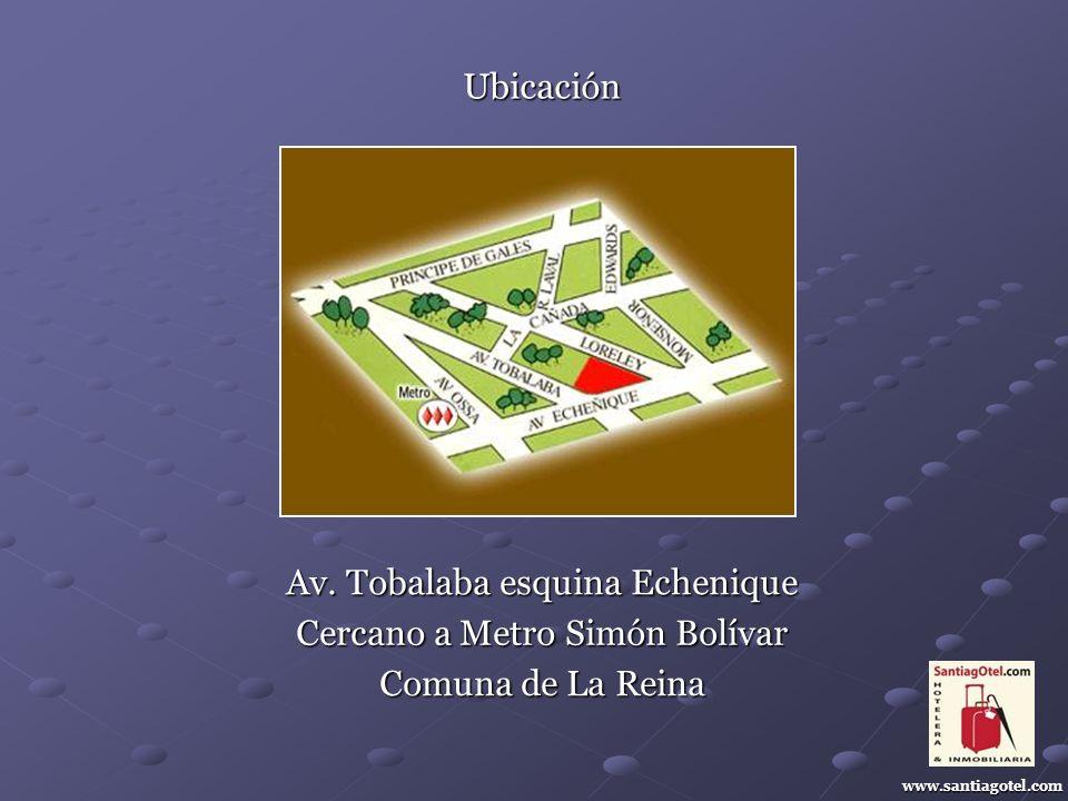 Ubicación www.santiagotel.com Av.