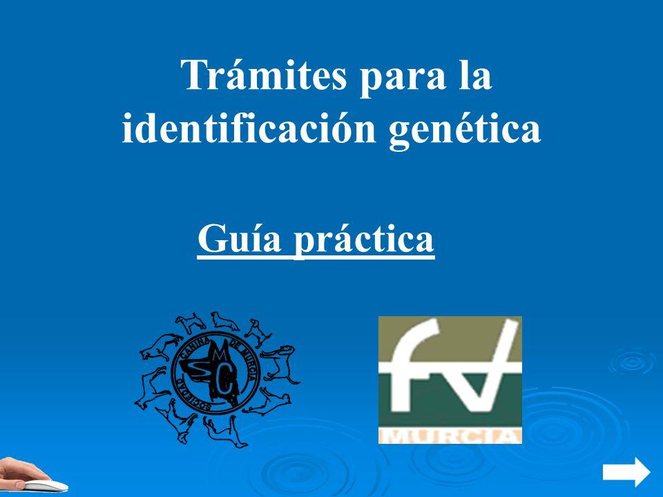 Trámites para la identificación genética Guía práctica