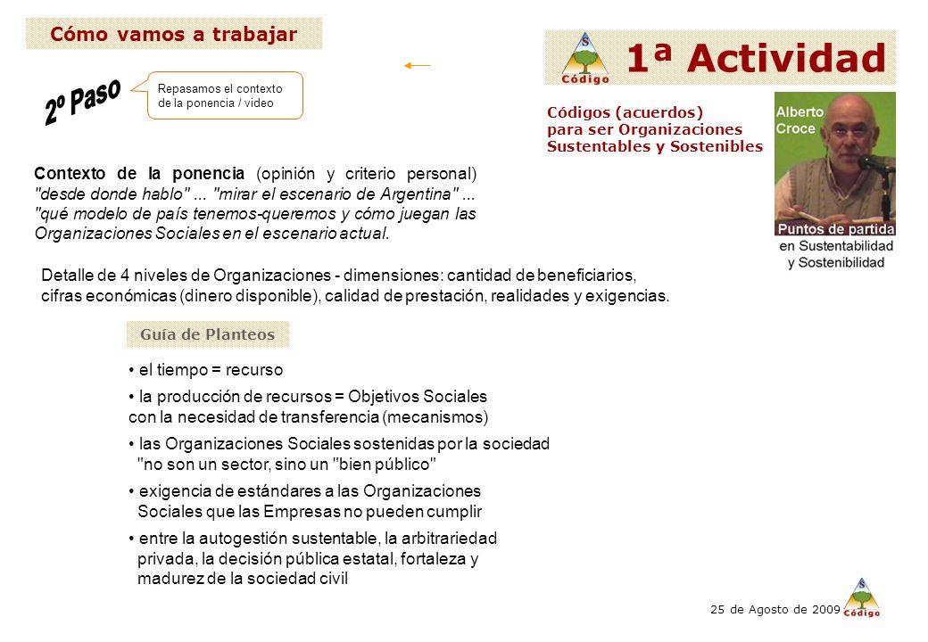 Contexto de la ponencia (opinión y criterio personal) desde donde hablo ...