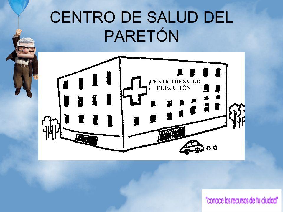 CENTRO DE SALUD DEL PARETÓN
