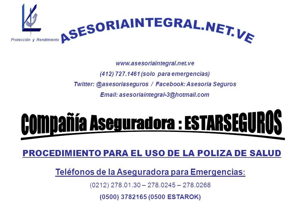 Contactar al centro de atención 24 horas por medio del teléfono de emergencia, comunicando la emergencia.
