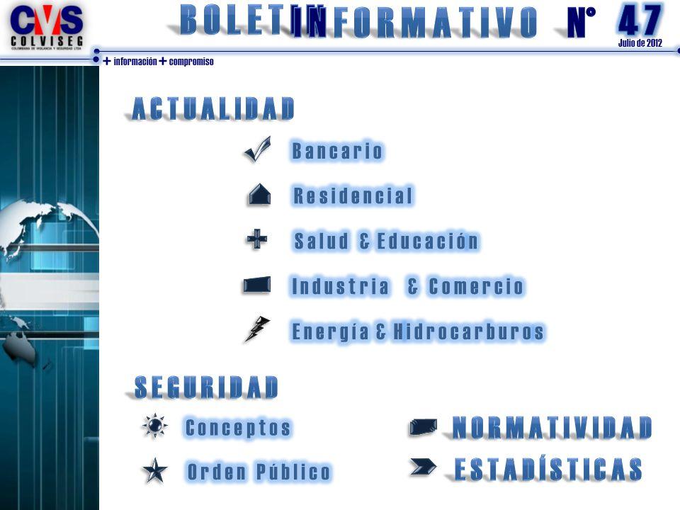 Julio de 2012 + información + compromiso