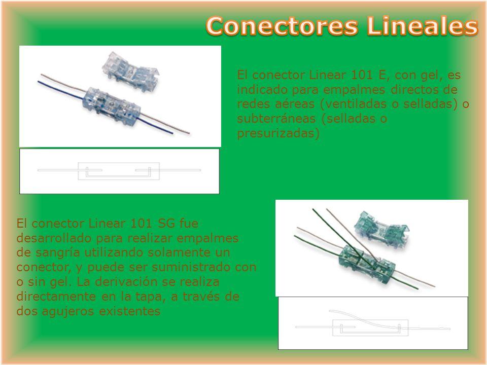 El conector CLV fue desarrollado para realizar conexiones rápidas y fiables, especialmente para empalmes de cables de alta capacidad. El empalme es de
