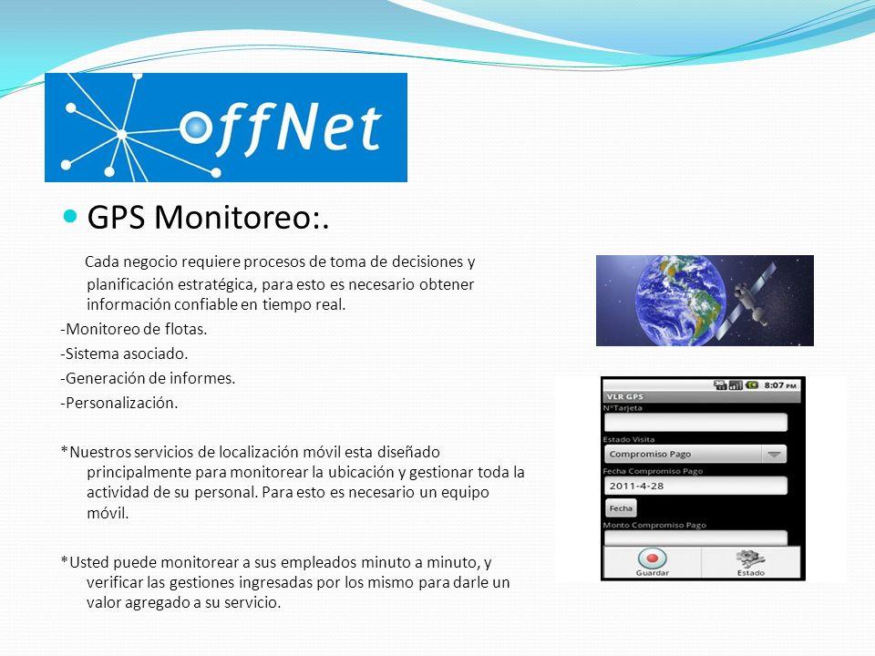 GPS Monitoreo:.