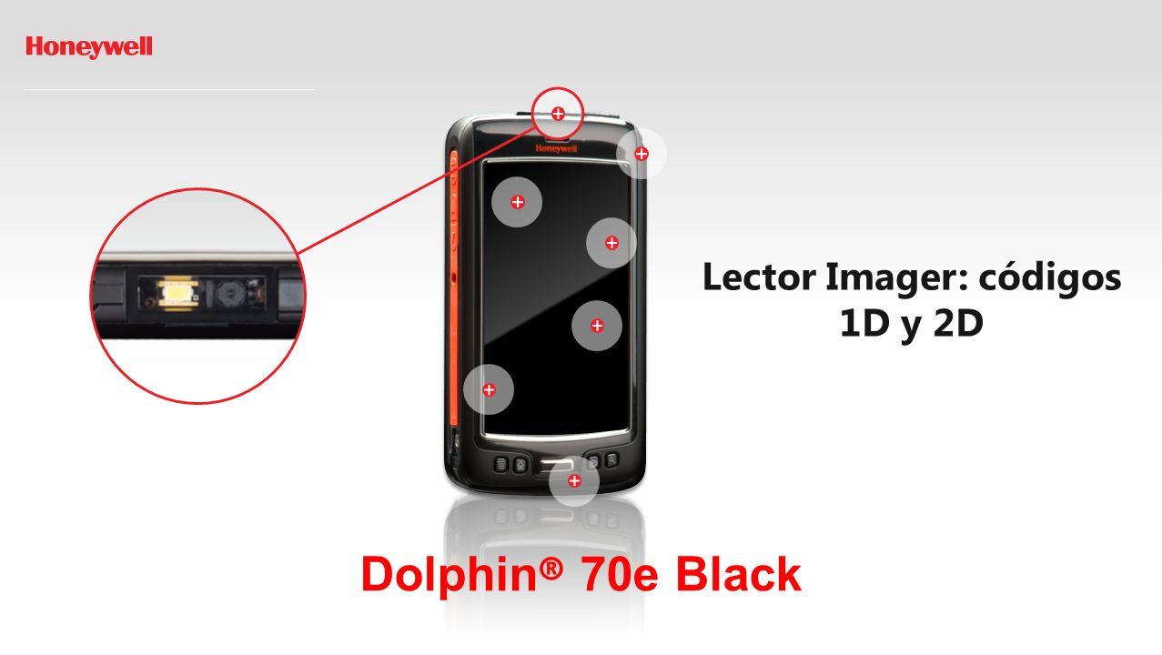 Dolphin ® 70e Black Pantalla Táctil Capacitiva 4,3 y Gorilla Glass: visible bajo luz solar directa.