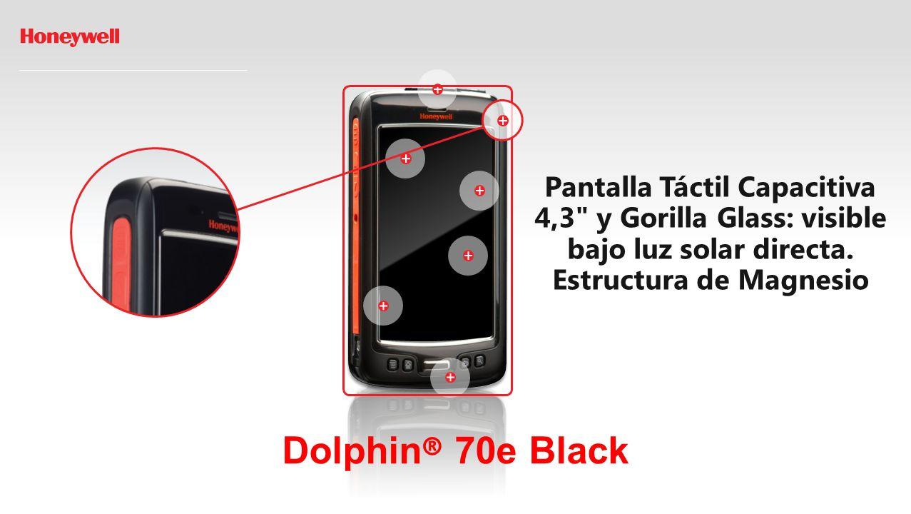 Dolphin ® 70e Black Procesador 1GHz Single Core TI OMAP.