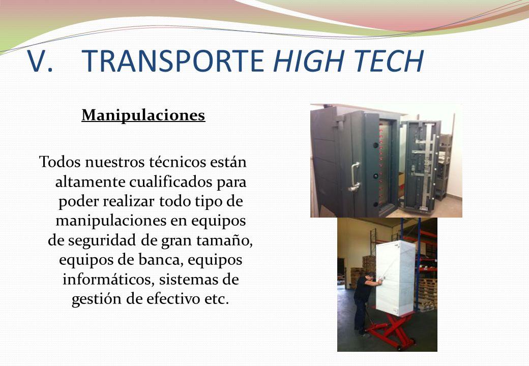 Manipulaciones Todos nuestros técnicos están altamente cualificados para poder realizar todo tipo de manipulaciones en equipos de seguridad de gran ta