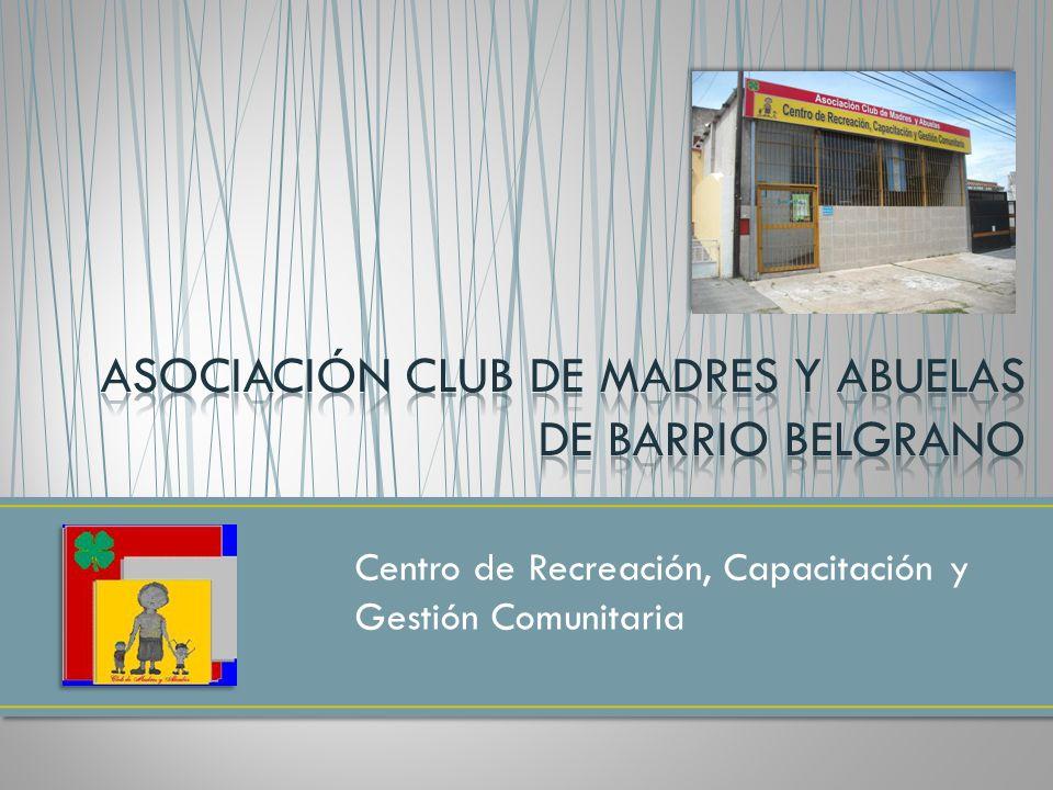 Centro de Recreación, Capacitación y Gestión Comunitaria