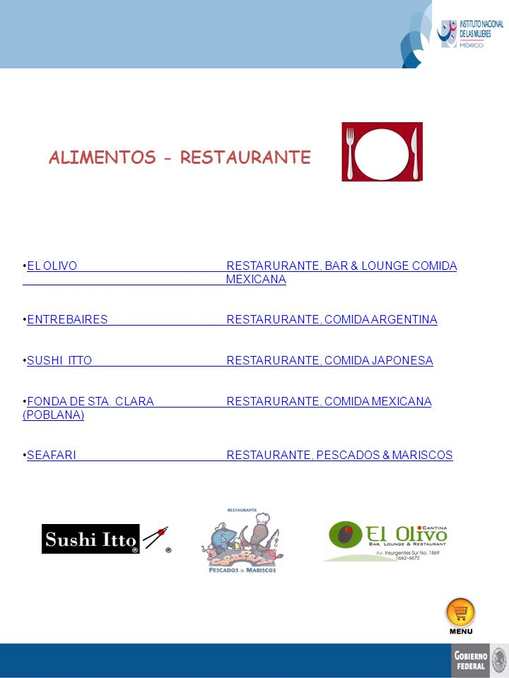 EL OLIVORESTARURANTE, BAR & LOUNGE COMIDA MEXICANAEL OLIVORESTARURANTE, BAR & LOUNGE COMIDA MEXICANA ENTREBAIRESRESTARURANTE, COMIDA ARGENTINAENTREBAI