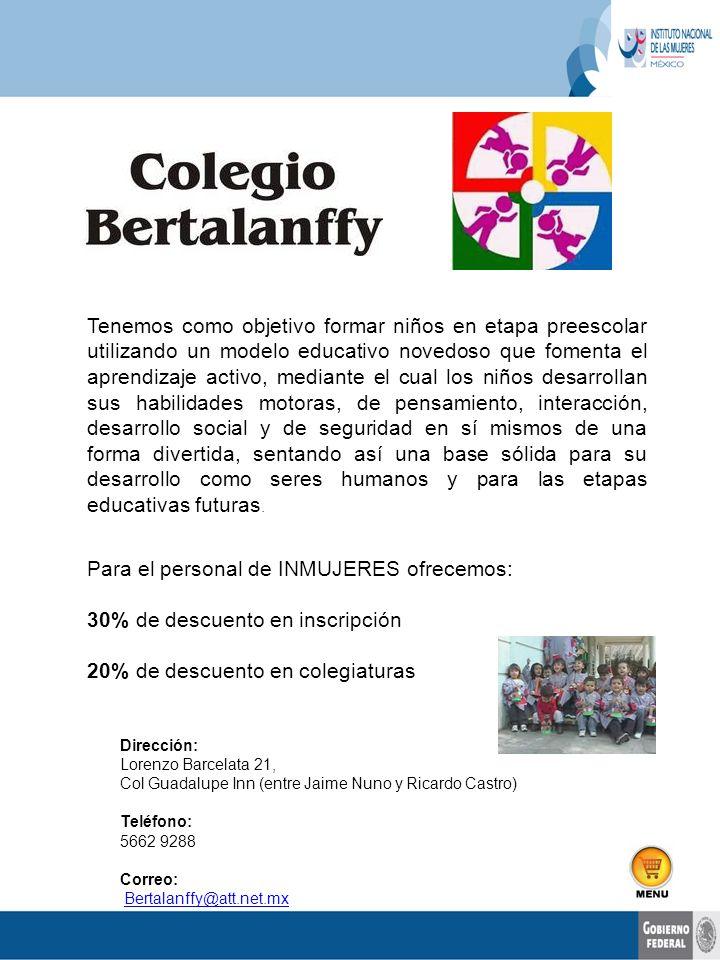 servicios educativos Colegio Nacional de Matemáticas, S.C.