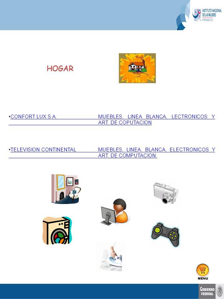 CONFORT LUX S.A.MUEBLES, LINEA BLANCA, LECTRONICOS Y ART. DE COPUTACIONCONFORT LUX S.A.MUEBLES, LINEA BLANCA, LECTRONICOS Y ART. DE COPUTACION TELEVIS
