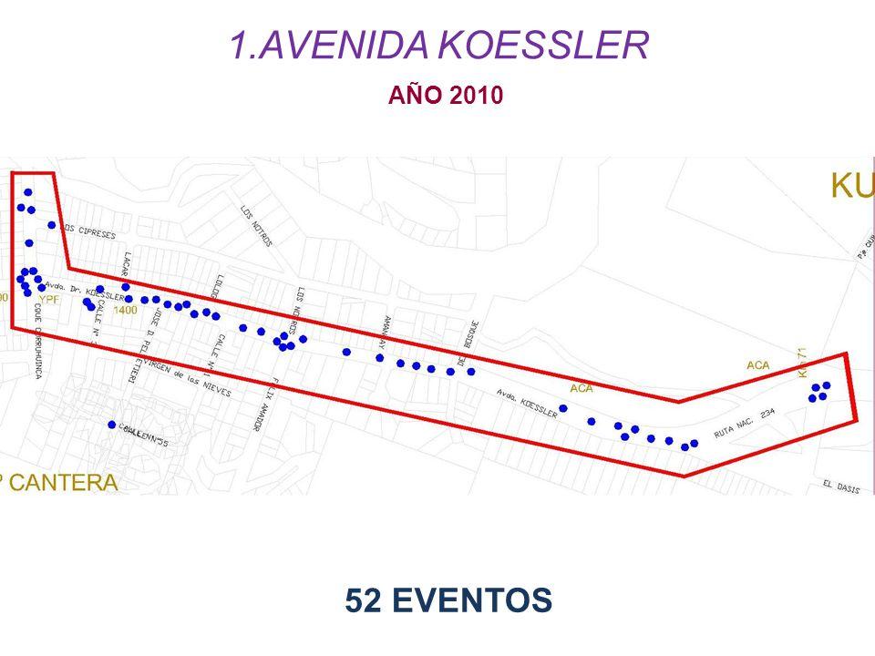 52 EVENTOS AÑO 2010 1.AVENIDA KOESSLER
