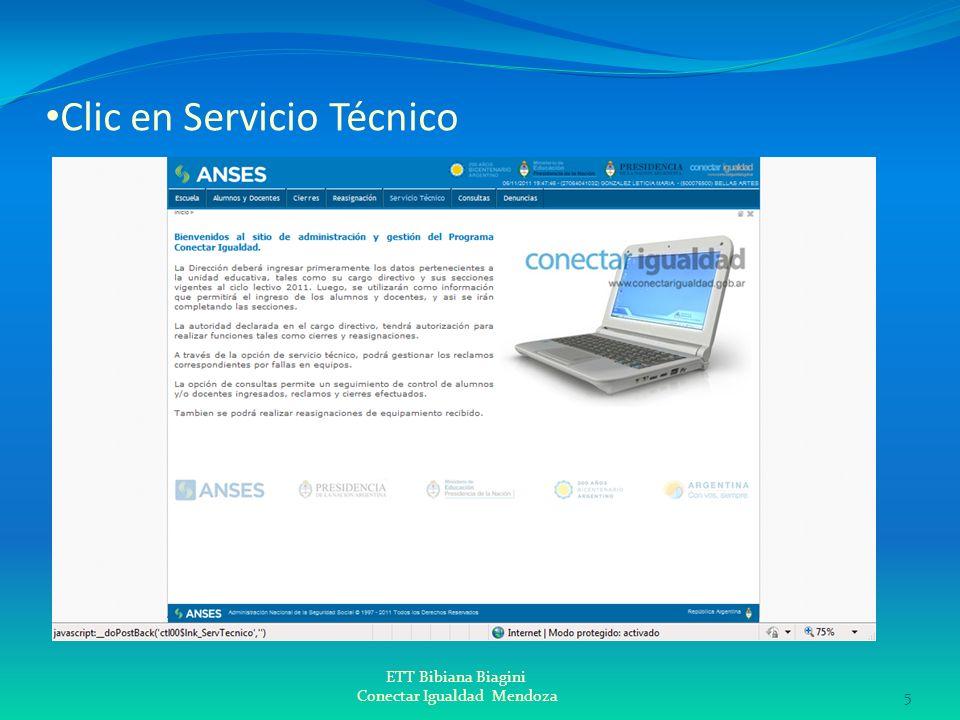 Clic en Servicio Técnico ETT Bibiana Biagini Conectar Igualdad Mendoza5