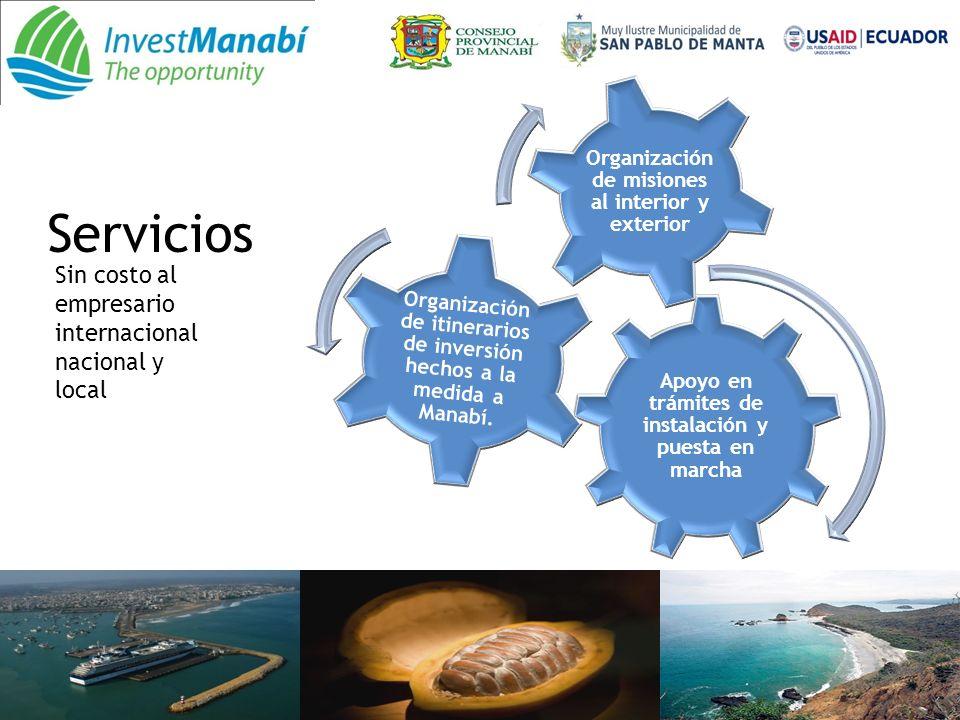 Servicios Sin costo al empresario internacional nacional y local