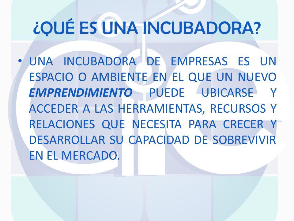 IMPULSAN LA GENERACIÓN DE NUEVAS IDEAS CREACIÓN DE NUEVAS EMPRESAS FUENTES DE EMPLEOS DESARROLLO DE NUEVAS INVESTIGACIONES IMPULSAN NUEVAS ECONOMÍAS NEGOCIO RENTABLE BENEFICIOS DE LA INCUBACIÓN