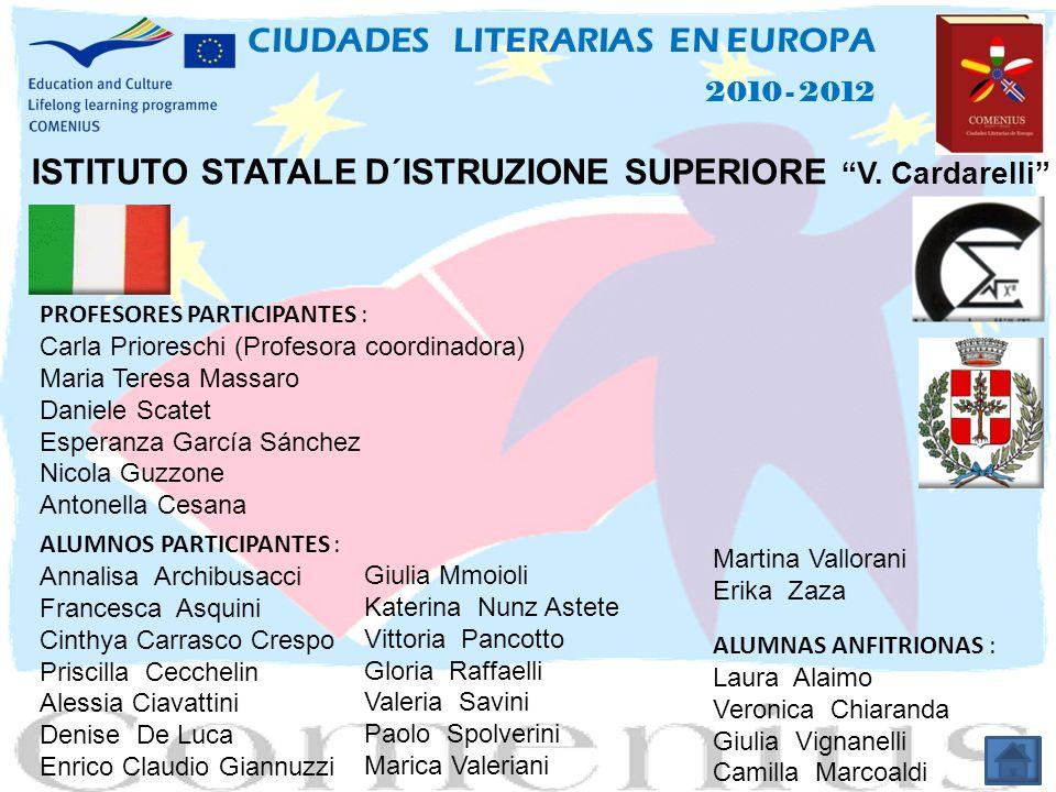 ISTITUTO STATALE D´ISTRUZIONE SUPERIORE V.