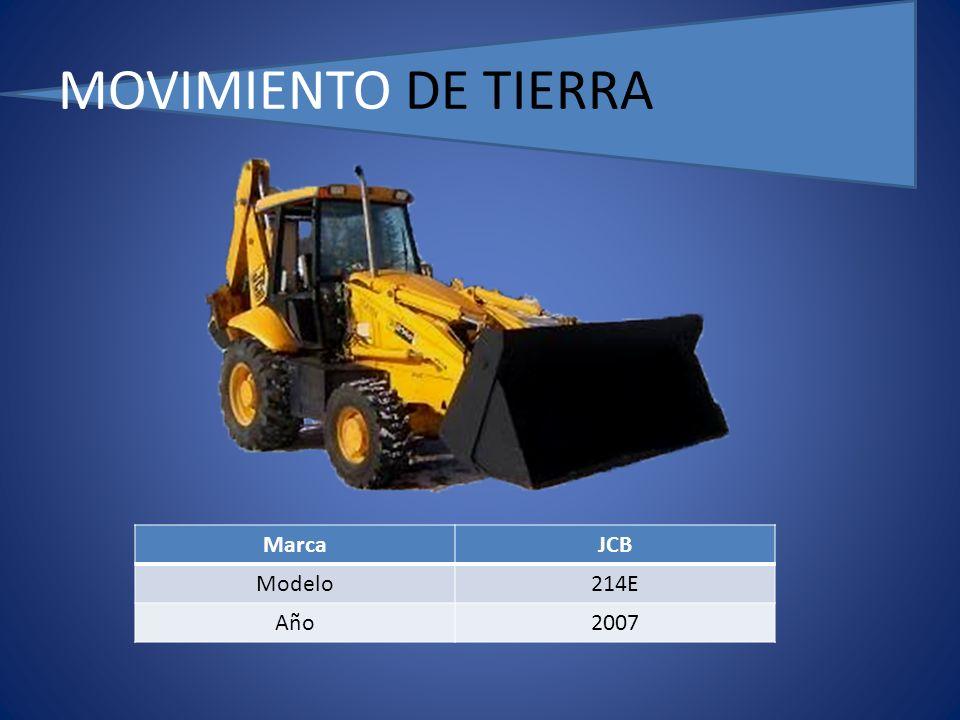 MOVIMIENTO DE TIERRA MarcaJCB Modelo214E Año2007