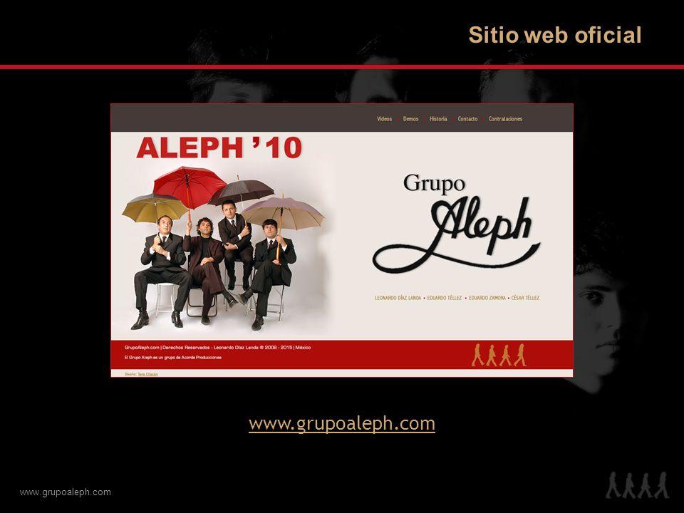 www.grupoaleph.com Sitio web oficial www.grupoaleph.com