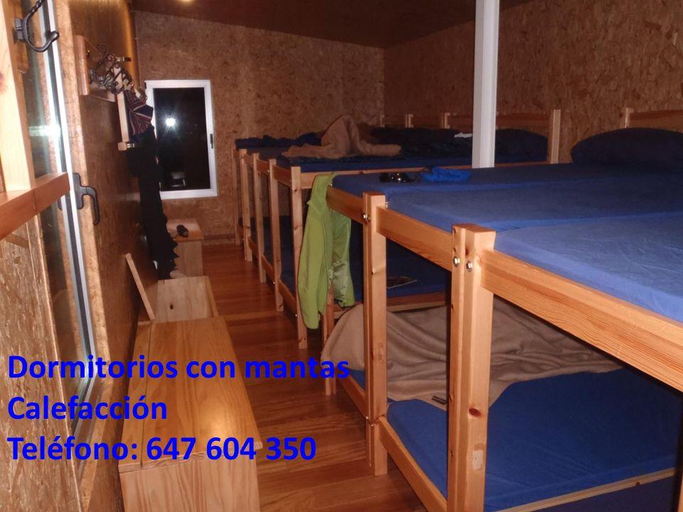 Dormitorios con mantas Calefacción Teléfono: 647 604 350