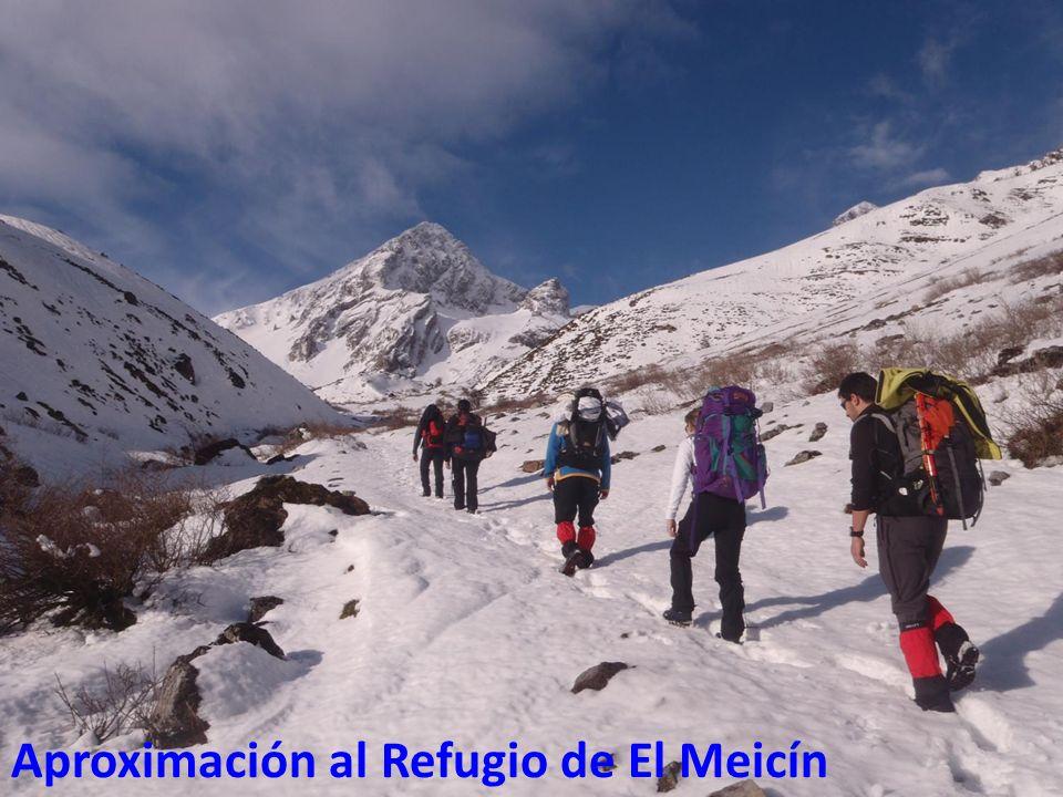 Aproximación al Refugio de El Meicín