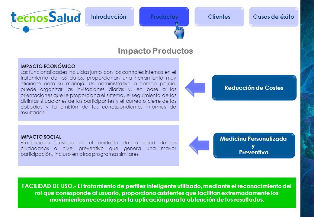 Salud Integral IMPACTO SALUD Eficiencia proporcionada por los controles exhaustivos eficiente para el seguimiento de los resultados de Colonoscopias u otras pruebas complementarias, con el fin de obtener un diagnóstico lo antes posible.