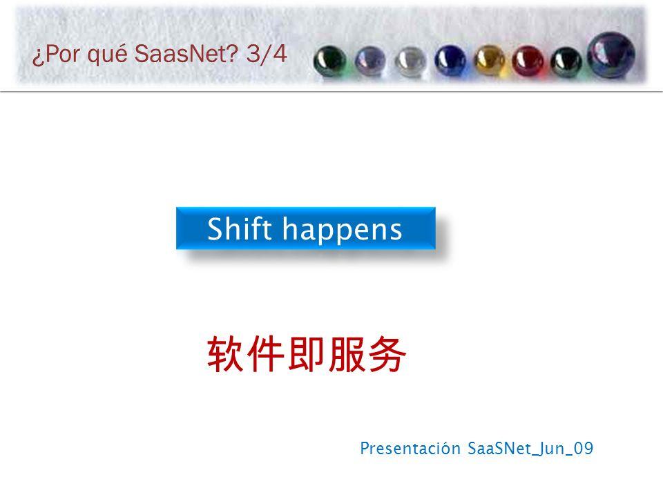 Presentación SaaSNet_Jun_09