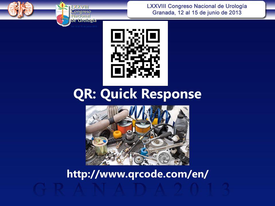 QR: Quick Response http://www.qrcode.com/en/
