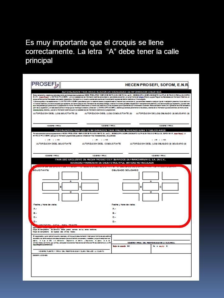 En el pagare deberan revisar que este correcto el nombre, domicilio, código postal del solicitante y obligado solidario.