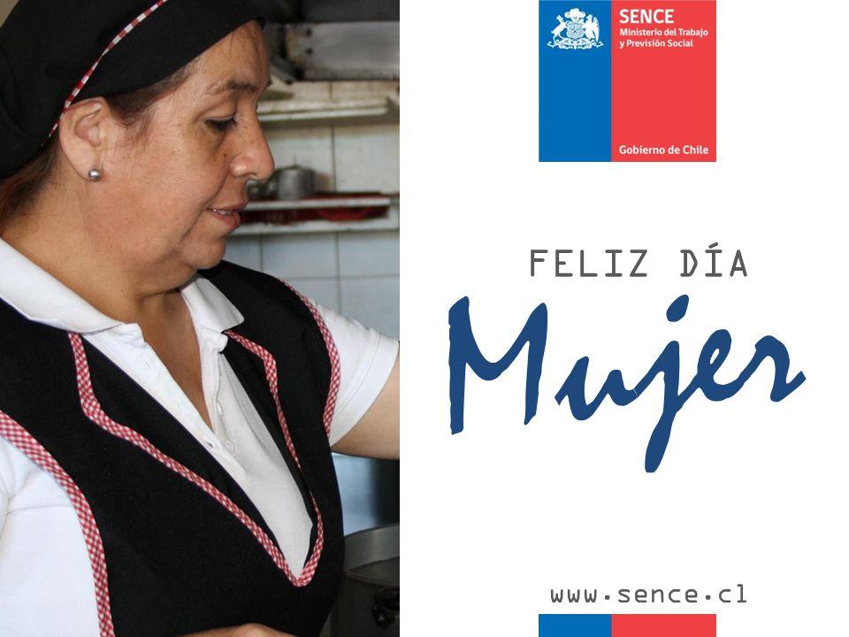 FELIZ DÍA Mujer www.sence.cl