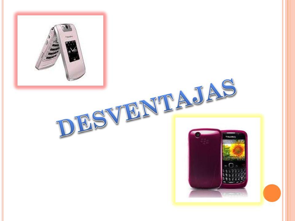 Blackberry esta disponible en 5 modalidades, con teclado pequeño, con teclado grande, sin teclado, tipo almeja y tipo barra de chocolate. La batería d