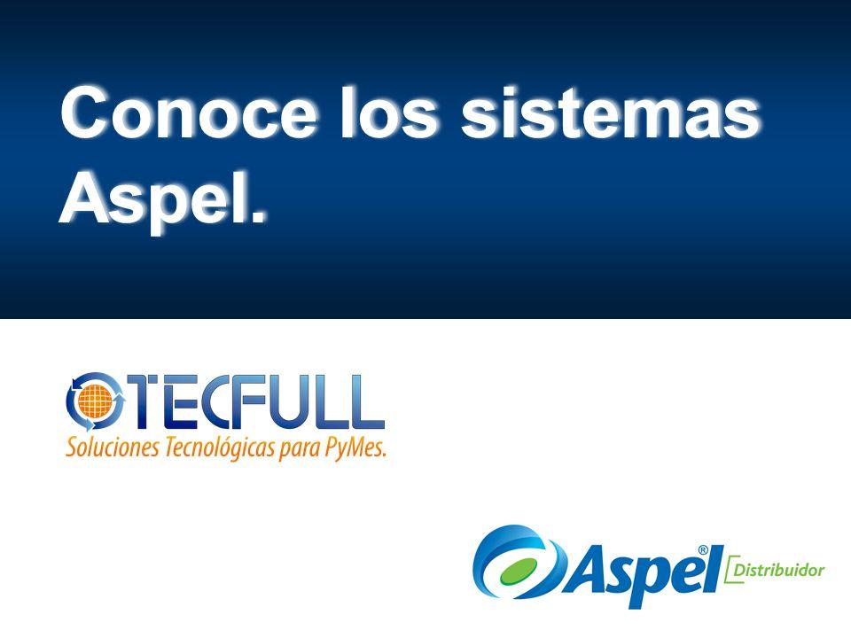 Conoce los sistemas Aspel.