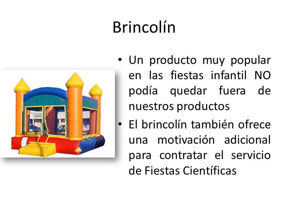 Brincolín Un producto muy popular en las fiestas infantil NO podía quedar fuera de nuestros productos El brincolín también ofrece una motivación adici