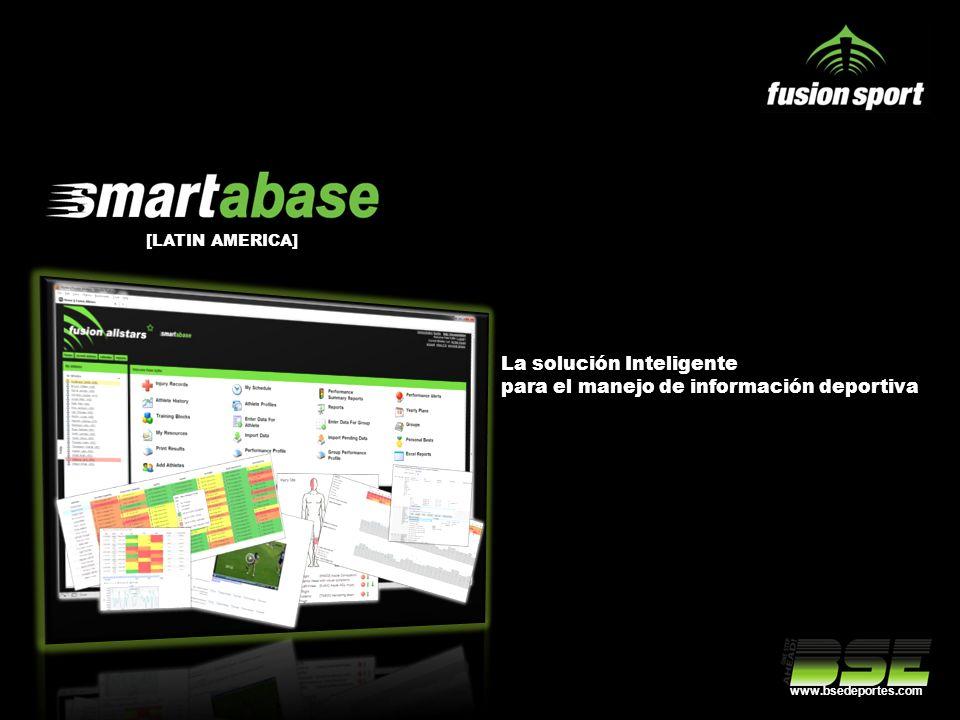 La solución Inteligente para el manejo de información deportiva [LATIN AMERICA] www.bsedeportes.com