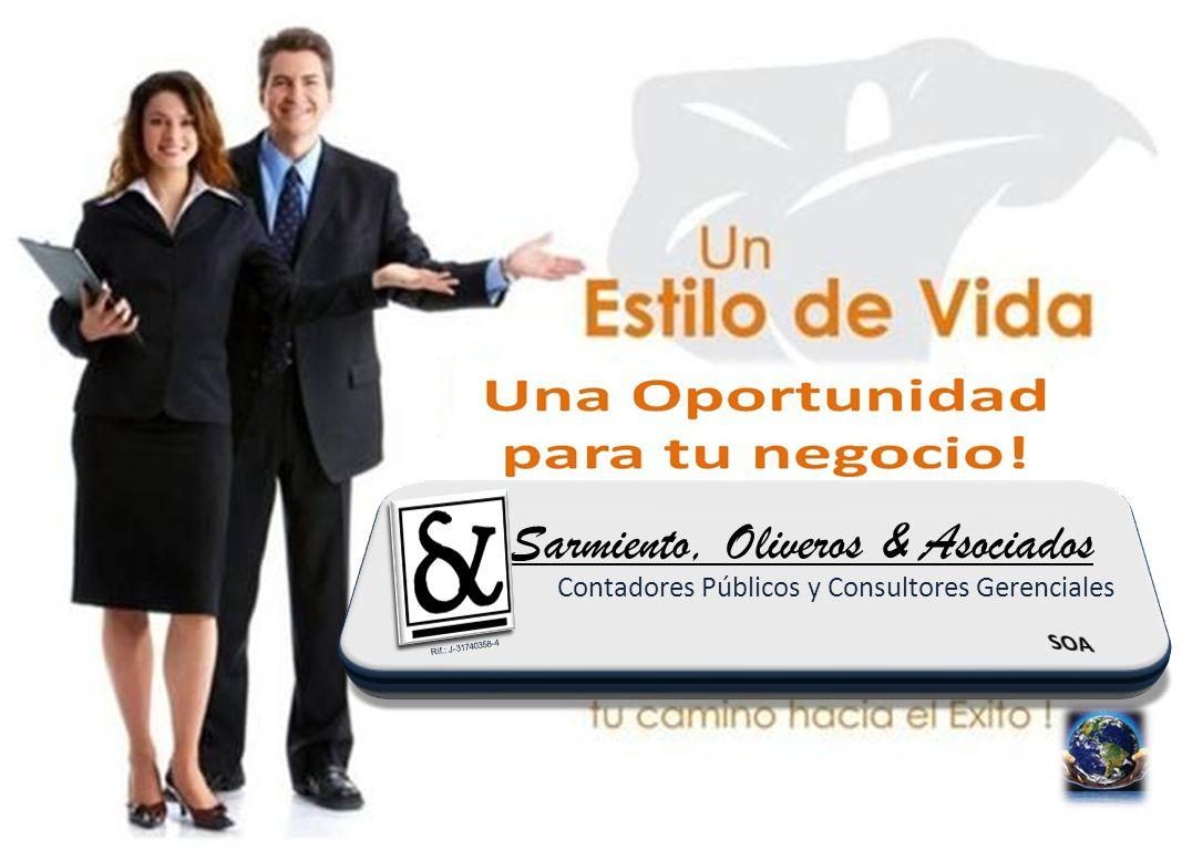 Sarmiento, Oliveros & Asociados Contadores Públicos y Consultores Gerenciales Rif.: J-31740358-4