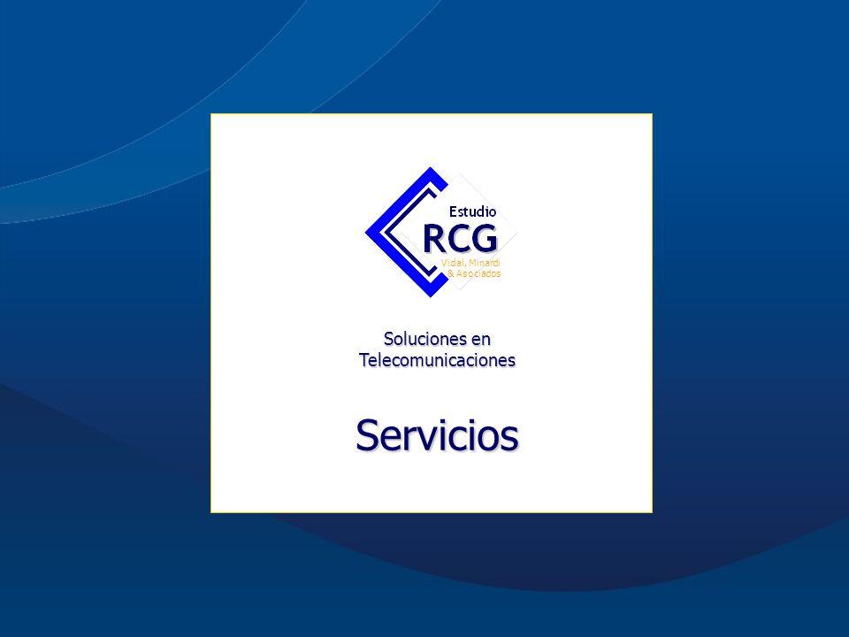 Acerca de Estudio RCG Misión Visión Nos comprometemos a satisfacer las necesidades y expectativas de nuestros clientes, entregando soluciones exitosas con los más altos estándares de calidad, transformando nuestro conocimiento del mercado de telefonía en valor para el cliente.