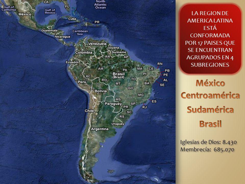 América del Sur Colombia Ecuador Perú Bolivia Chile Paraguay Argentina Uruguay